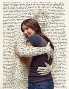 woman-hugging-book-page