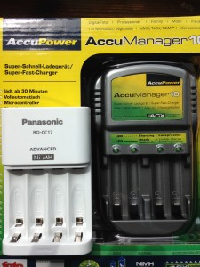 Accumanager 10 is quite large compared with the BQ-CC17